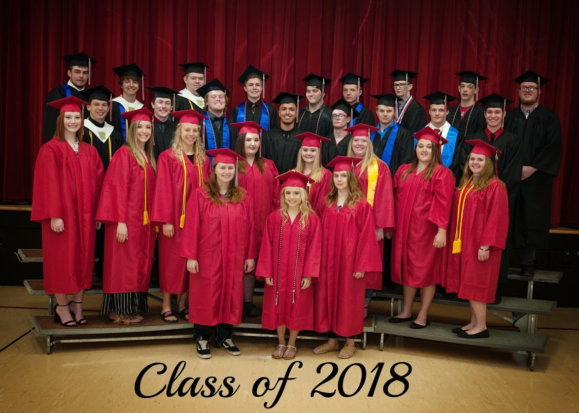 Group photo of class of 2018